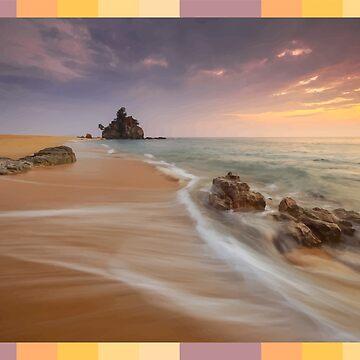 Soothing Beach by ahmedburdette