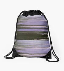Purple Horizon Drawstring Bag