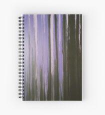 Purple Horizon Spiral Notebook