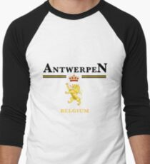 Antwerpen, Belgium Men's Baseball ¾ T-Shirt