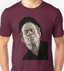 Tom Waits music voice character portrait digital illustration T-Shirt