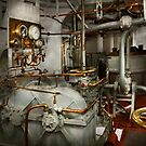 Steampunk - In the engine room by Michael Savad