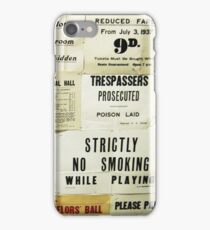 A Sign Of The Times iPhone Case/Skin
