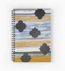 Golden Splendor Spiral Notebook