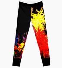 Under The Sea ~ Chihuly Leggings