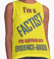 I'm a Factist Contrast Tank