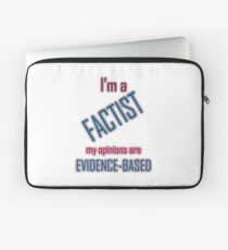 I'm a Factist Laptop Sleeve