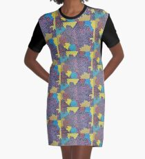 Whimsy Graphic T-Shirt Dress