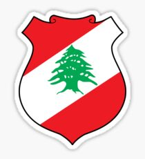 Lebanon coat of arms Sticker