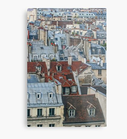 Rooftops of Paris #2 Metal Print