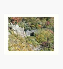 Tunnel to Mystery Art Print
