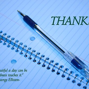 Thanks by Dmargie