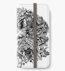 Hidden fox  iPhone Wallet/Case/Skin