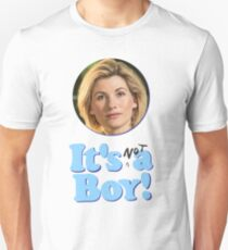 13th Doctor Is Not A Boy! Unisex T-Shirt