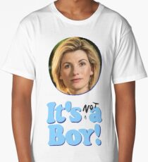 13th Doctor Is Not A Boy! Long T-Shirt