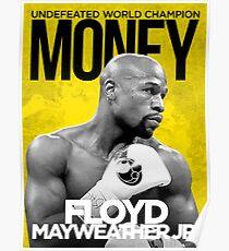 Floyd Mayweather Jr. Poster