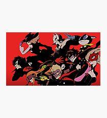 Persona 5 All Confidants Photographic Print