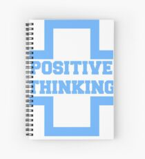 Positive Thinking Spiral Notebook