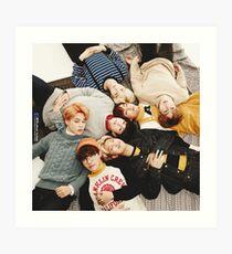 BTS Art Print