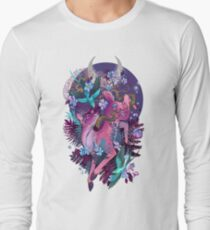 Mystic Midnight Pink White Tail Doe T-Shirt