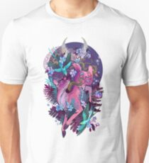 Mystic Midnight Pink White Tail Doe T-Shirt