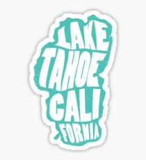 Lake Tahoe California Sticker Sticker