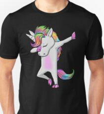 Cool Dabbing Unicorn Shirt T-Shirt