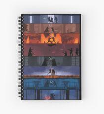 Star Wars Duels Spiral Notebook