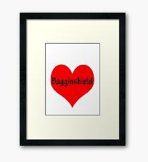 Bagginshield of My Heart Framed Print