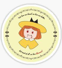Vampire Madeline Sticker