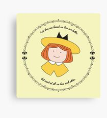 The Smallest One was Madeline Canvas Print