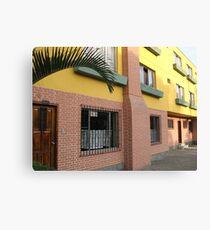 Apartments Canvas Print