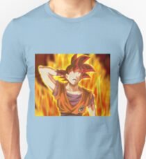 Goku Red God Unisex T-Shirt