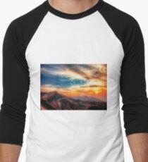 Landscape 5. Men's Baseball ¾ T-Shirt