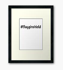 #Bagginshield Framed Print