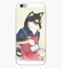 Barista Shiba iPhone Case