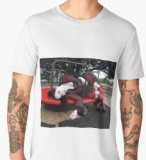 Goth Dolly - Black and Red Men's Premium T-Shirt
