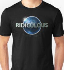 Flat Earth | Ridiculous Globe Logo (Universal) T-Shirt