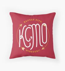 Kansas City Series: Chiefs Throw Pillow