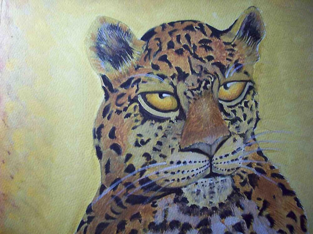 Leopard portrait  by coolart