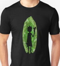 Rick & Morty - Portal Silhouette Unisex T-Shirt