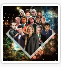 Doctor Who - The 14 Doctors Sticker