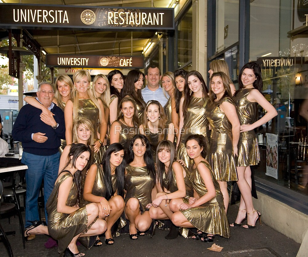 Universita Resturant & Miss Italia nel Mondo Australian Finalist 2008 by Rosina lamberti