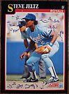 303 - Steve Jeltz by Foob's Baseball Cards