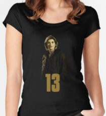 Who is 13 Women's Fitted Scoop T-Shirt