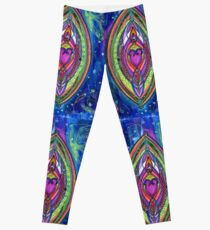 Night Dance of Lovers Leggings