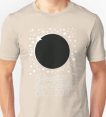 Solar Eclipse 2017 Shirt - The American Total Solar Eclipse Starfield - August 21, 2017 T-Shirt
