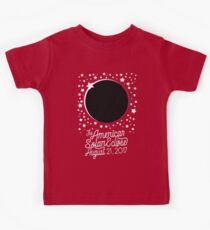 Solar Eclipse 2017 Shirt - The American Total Solar Eclipse Starfield - August 21, 2017 Kids Clothes