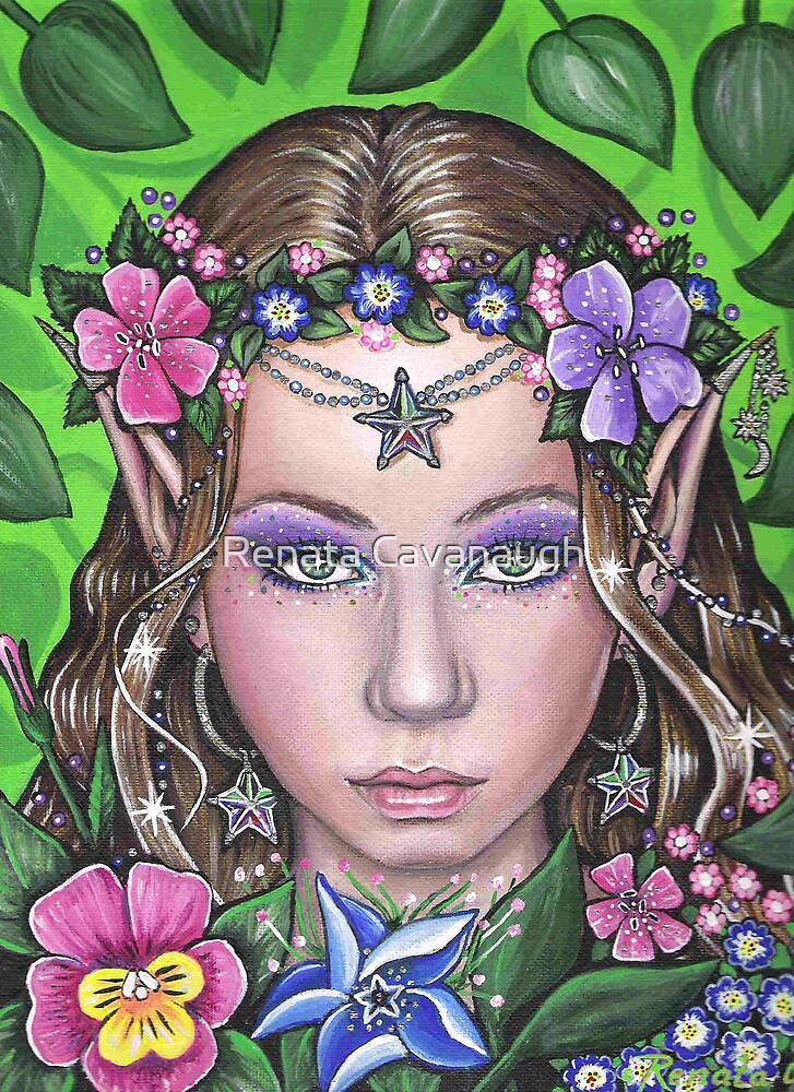 Enchantress of the Magic Garden by Renata Cavanaugh
