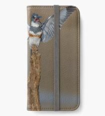 Belted KIngfishers iPhone Wallet/Case/Skin